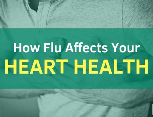 How flu affects heart health