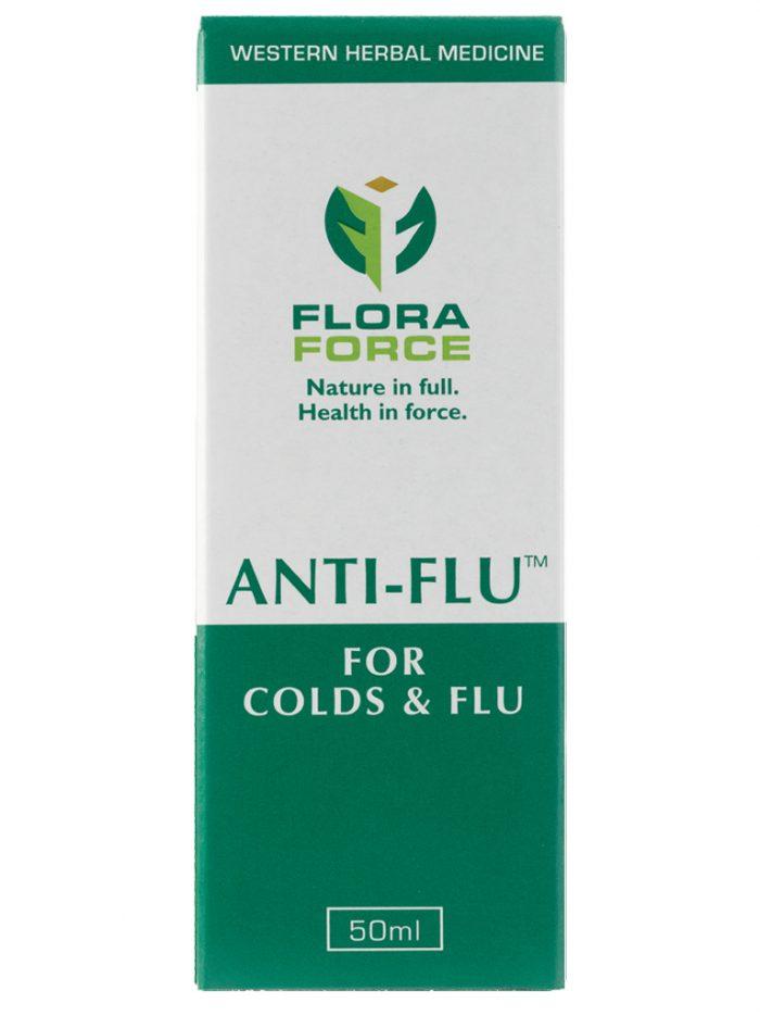 anti-flu drops box