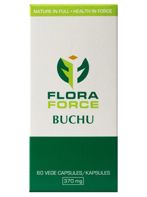 flora force buchu capsules box