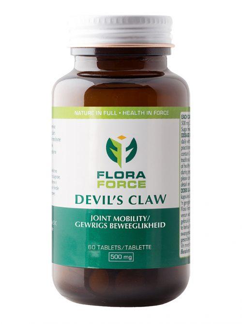 devil's claw tablets bottle