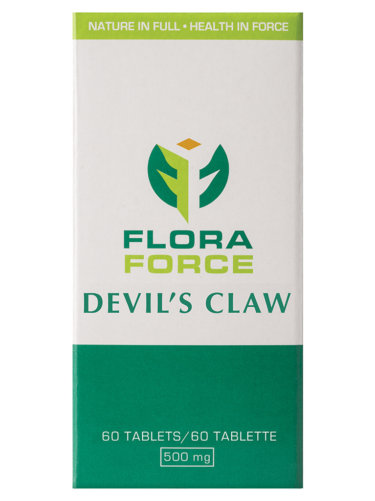 devil's claw tablets box