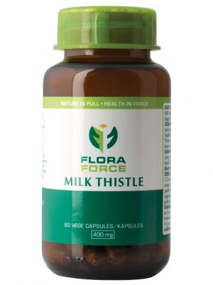 milk thioslte capsules bottle
