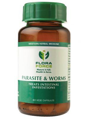 parasite & worms capsules bottle