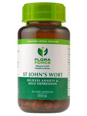 st john's wort capsules bottle
