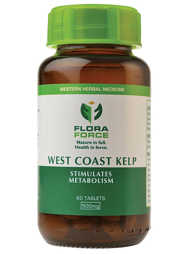 westcoast kelp tablets bottle
