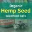 organic hemp seed balls 1
