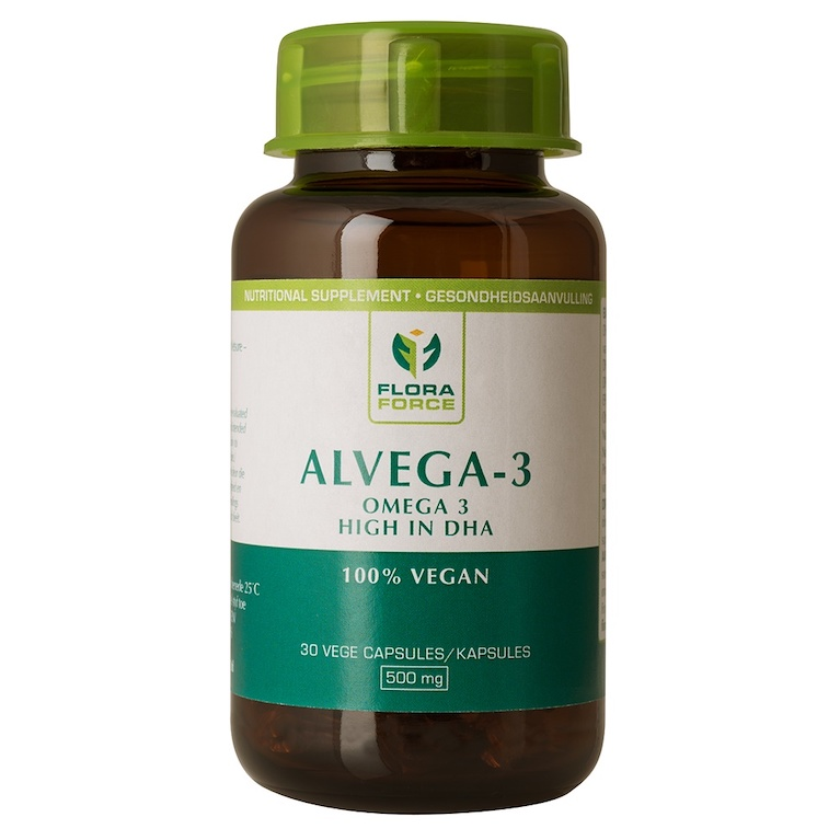 Alvega-3 Vegan Friendly Omega 3 supplement from Algal Oil