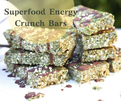 Superfood Energy Crunch Bars
