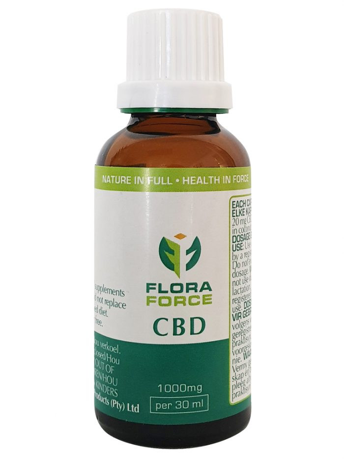 Flora Force CBD in MCT Oil 1000mg