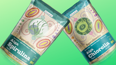 Spirulina and Chlorella algae blog banner