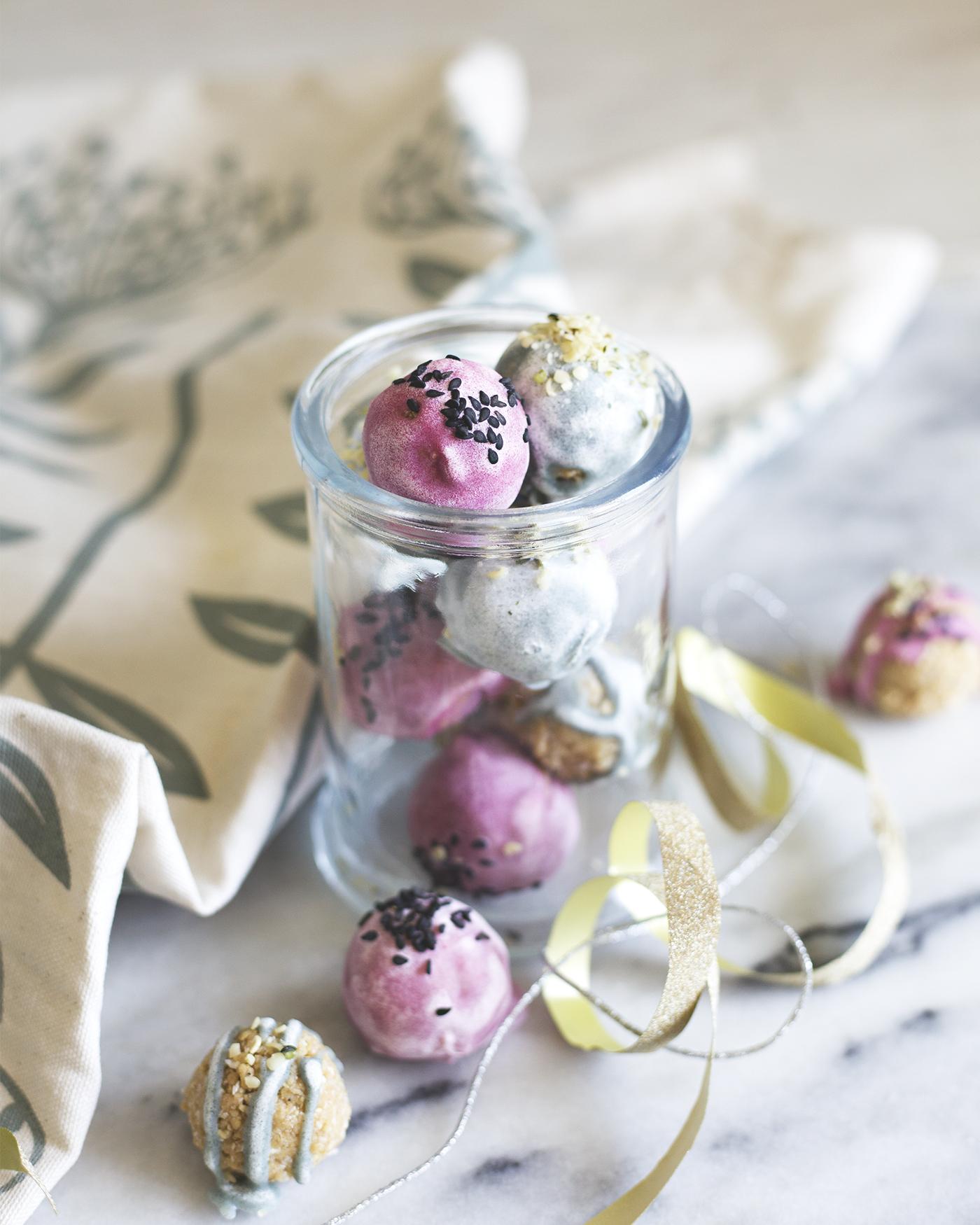 Yummy CBD protein balls