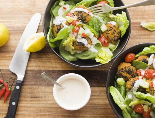 Gluten-Free Baked Butternut Falafels with Pea Protein
