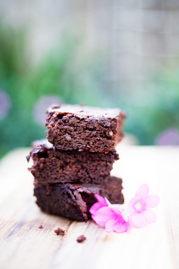 Chocolate Brownies with Sweet Potato and Butternut