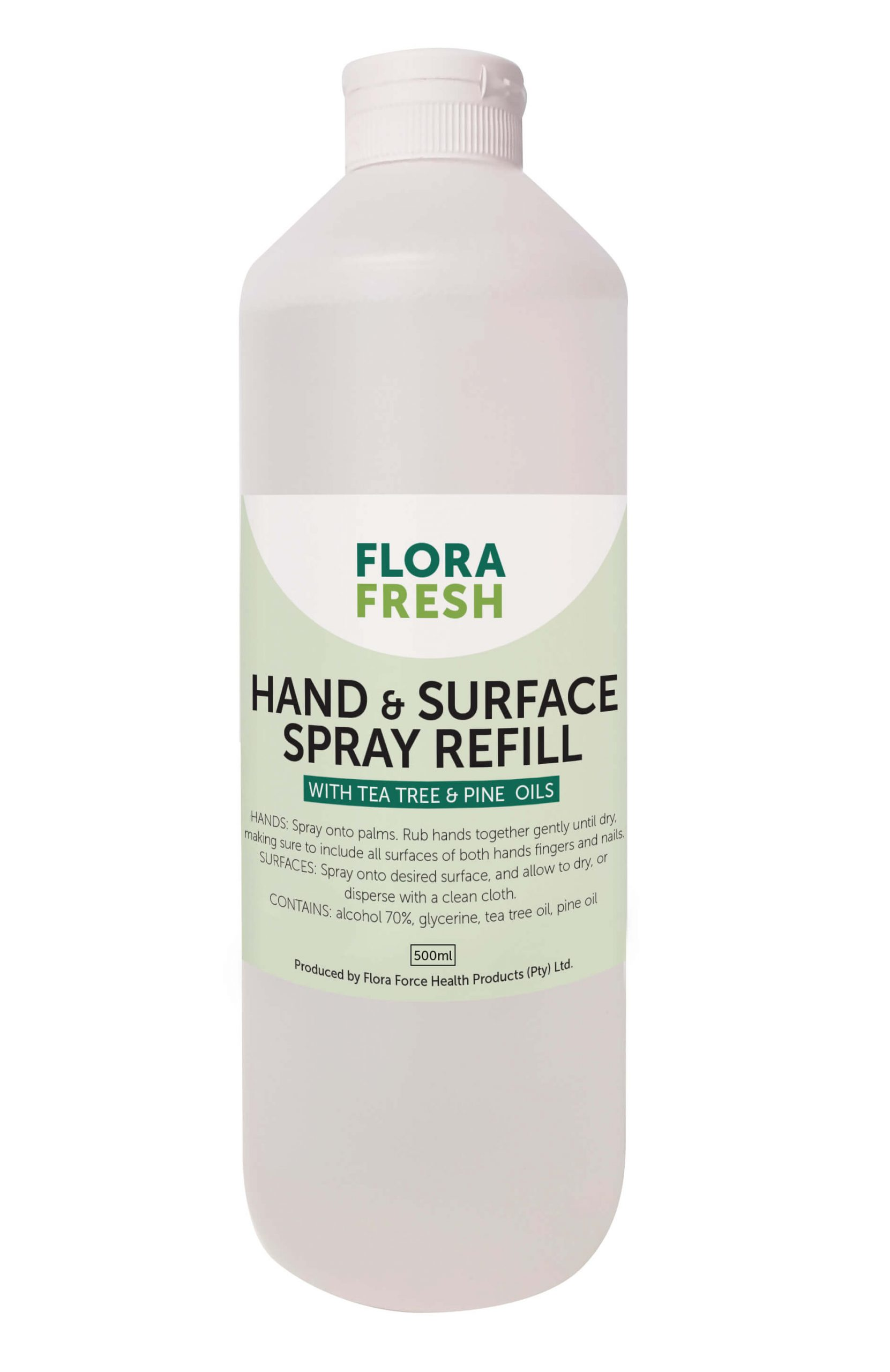 Flora Fresh Hand and Surface Spray Refill 500ml