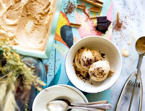 Creamy Rooibos, Cinnamon & Maca Ice Cream