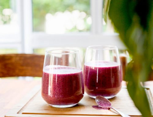 Blueberry & Beetroot Super Smoothie